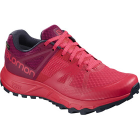 Salomon Trailster GTX - Zapatillas running Mujer - rojo